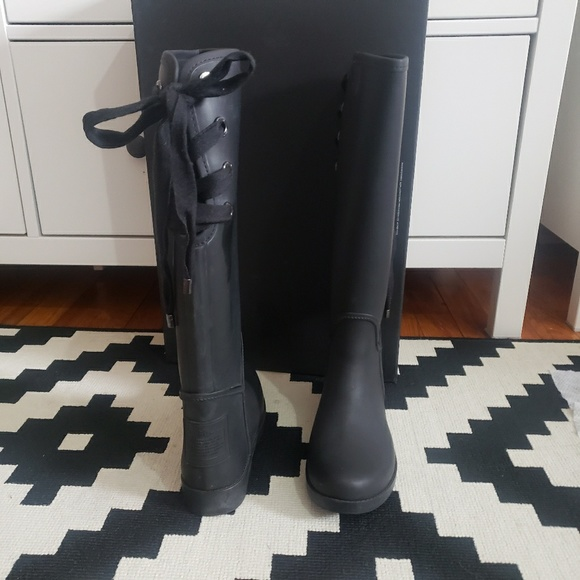 Coach Tristees Matte Rubber Rainboots